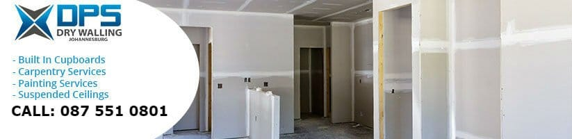 dry walling in Rosebank